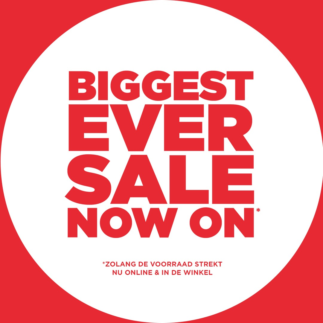 JD Sports Biggest ever sale now on
