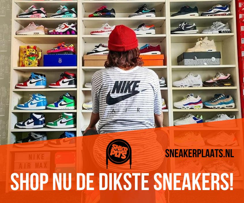 Shop nu de dikste sneakers op Sneakerplaats.nl