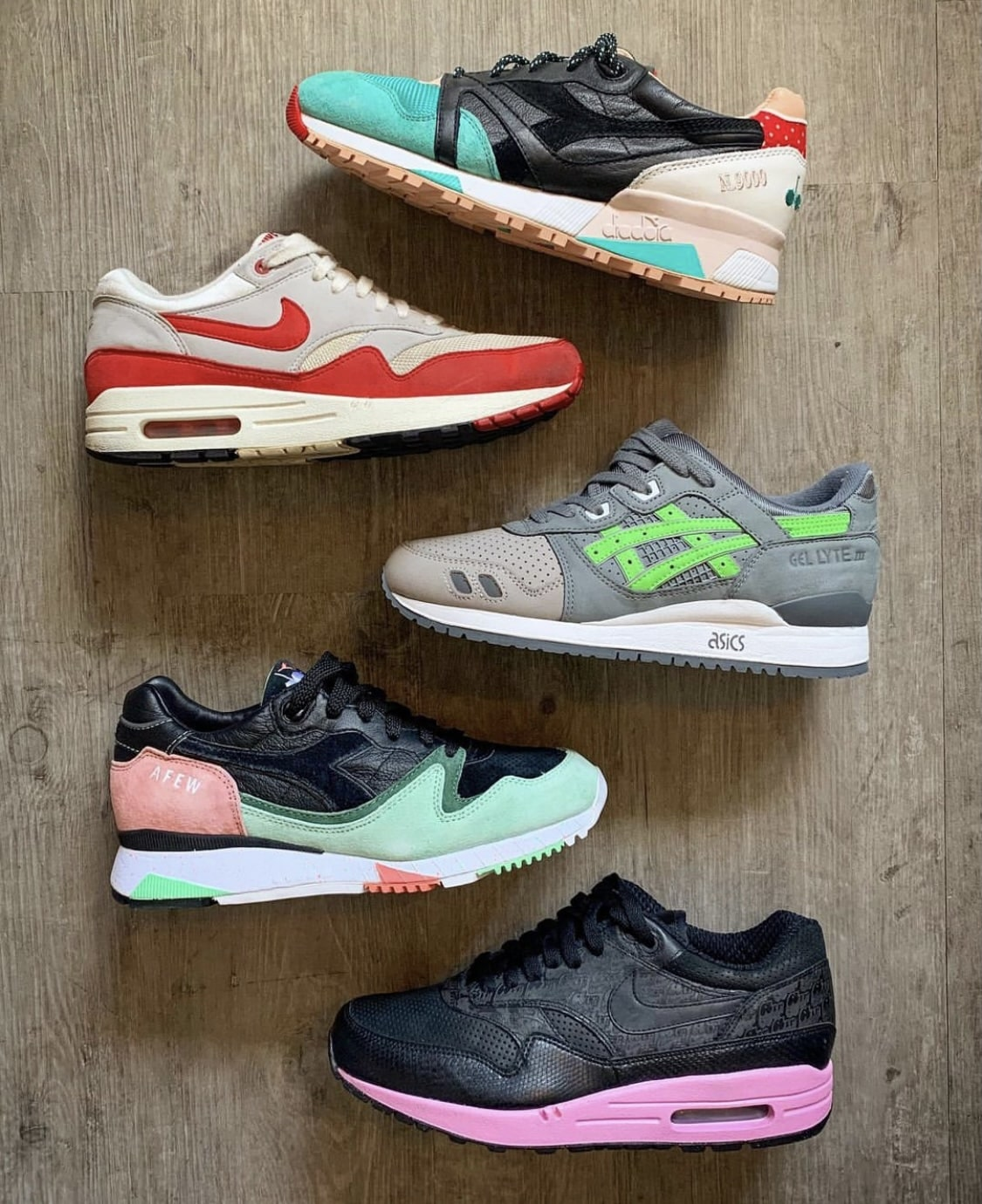 favorite sneakers bij @sjwsneakers - sneakerplaats interview