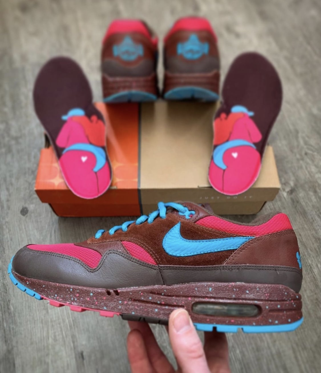 Patta x Nike Air Max 1 Amsterdam - @sjwsneakers Sneakerplaats interview