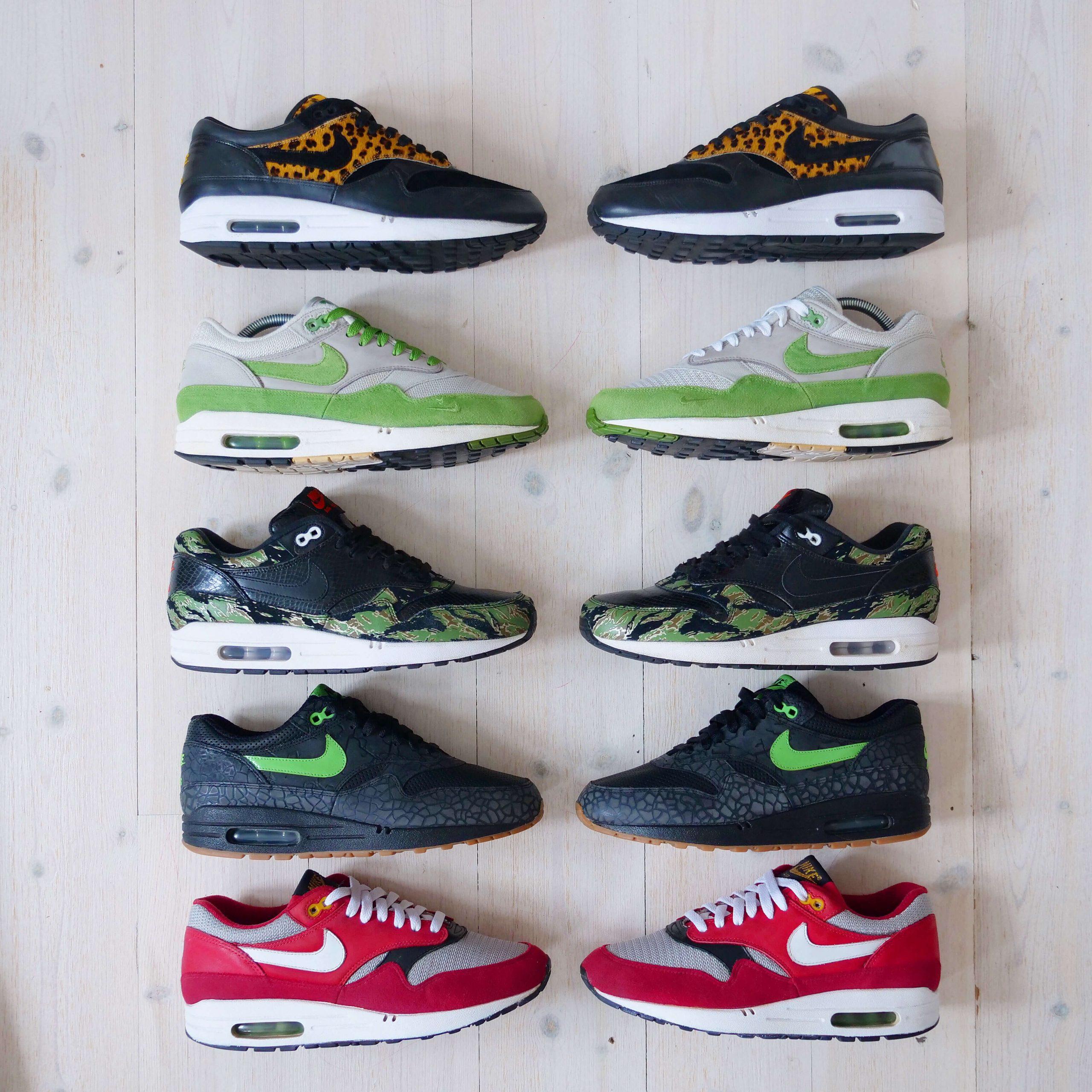 Busterhede - Nike Air Max 1 collection - sneakerfreak Sneakerplaats interview
