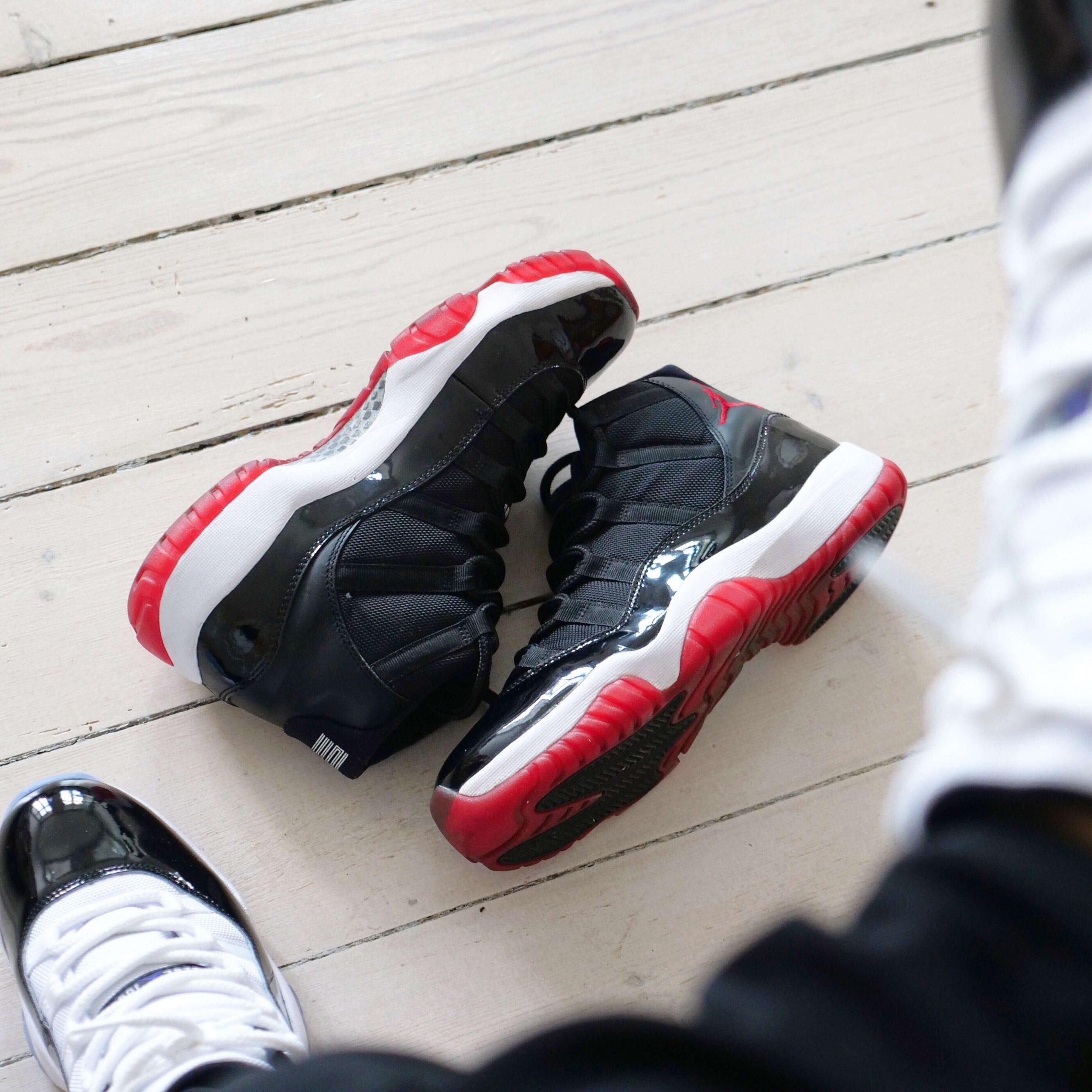 """Busterhede Jordan 11 """"Bred"""" sneakerfreak Sneakerplaats interview"""