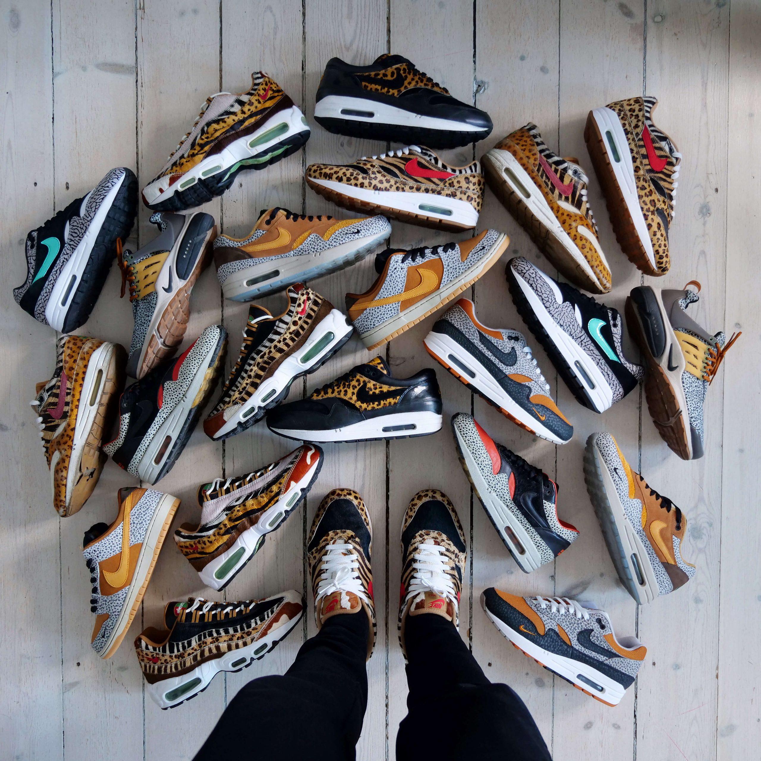 Busterhede - Nike Air Max Animal Pack - sneakerfreak Sneakerplaats interview