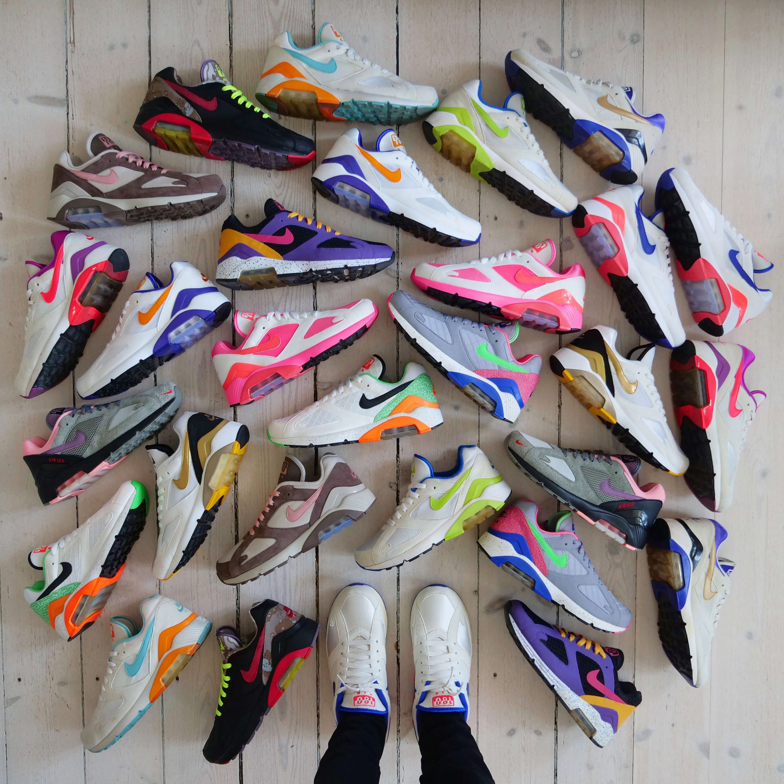 Busterhede - NIke Air Max 180 - sneakerfreak Sneakerplaats interview