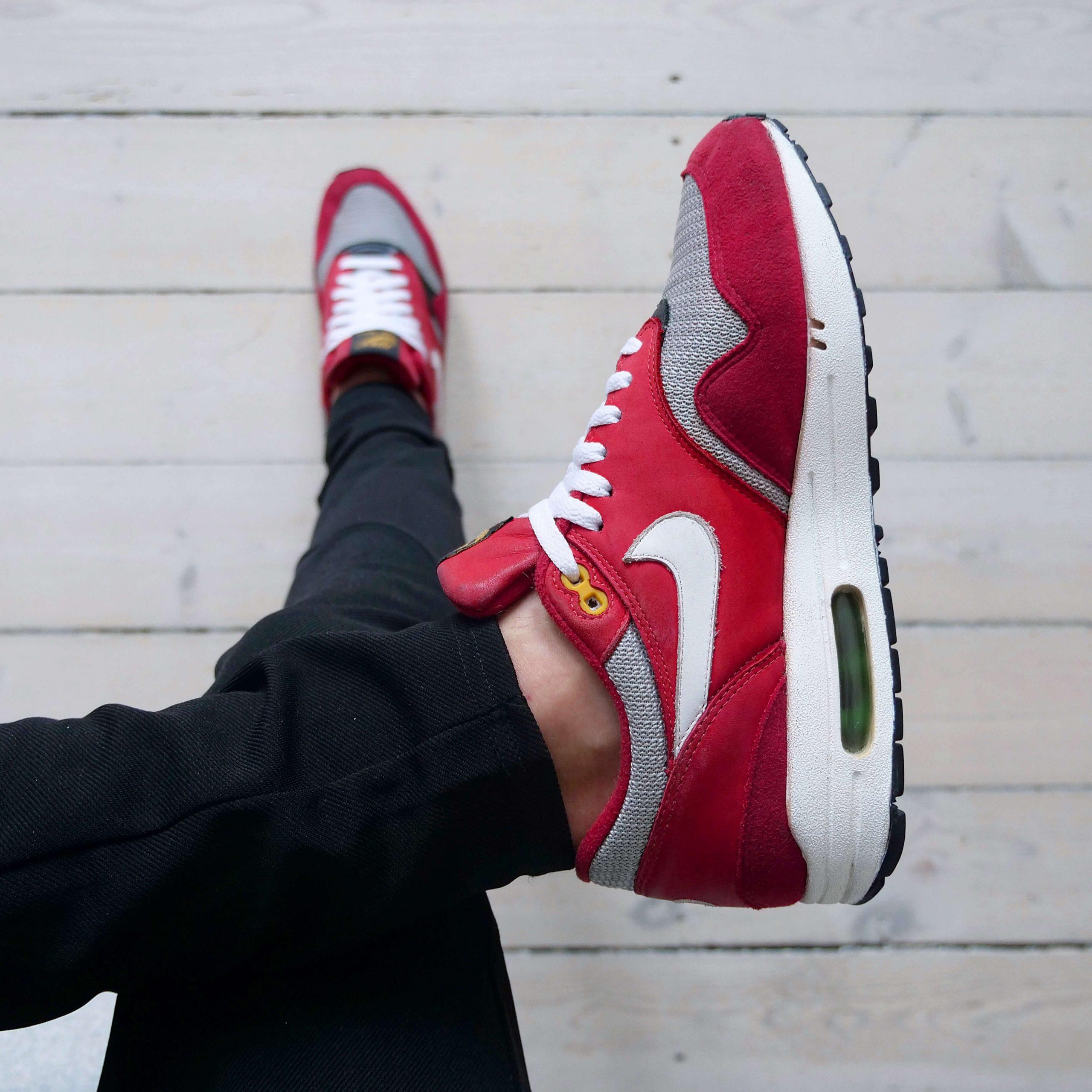 Busterhede - Nike Air Max 1 Urawa - sneakerfreak Sneakerplaats interview