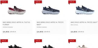 Nike Space Hippie 30% korting bij Afew Store