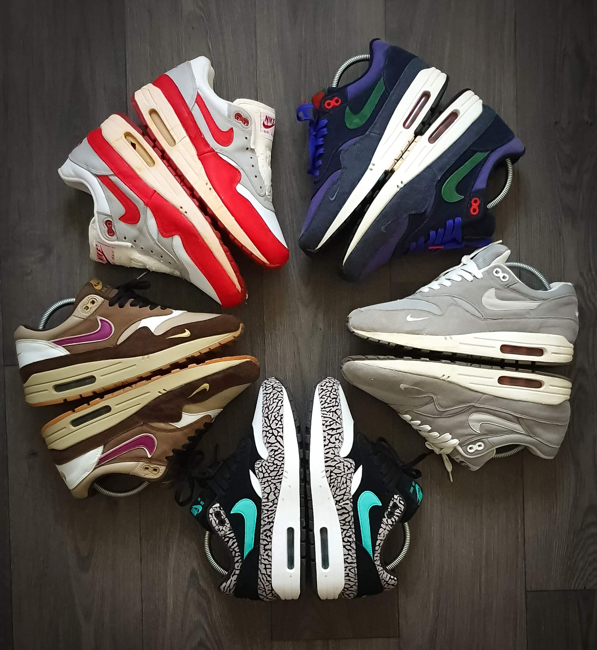 Nike Air Max 1 Wheel of Fire Sneakerwheel collection