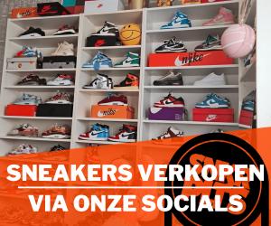 Sneakers verkopen via de socials van Sneakerplaats