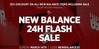 43einhalb new balance flash sale 20% korting
