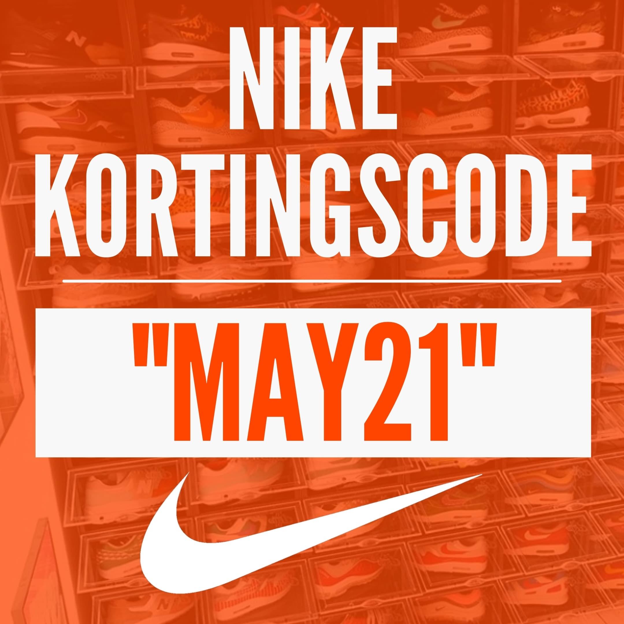 Nike kortingscode MAY21